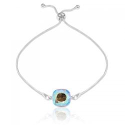 Bratara Argint 925, Bratara SWAROVSKI Brilliant Diamond Shimmer + CADOU Laveta profesionala pentru curatat bijuteriile din argint + Cutie Cadou