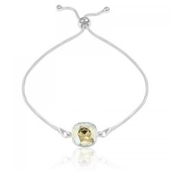 Bratara Argint 925, Bratara SWAROVSKI Brilliant Moonlight + CADOU Laveta profesionala pentru curatat bijuteriile din argint + Cutie Cadou