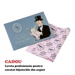 Bratara Argint 925, Bratara tip PANDORA + CADOU Laveta profesionala pentru curatat bijuteriile din argint + Cutie Cadou