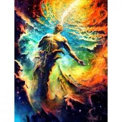 Pictura pe numere Spiritualitate 70x90 cm - FARA RAMA PDP2379