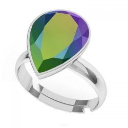 Inel Argint 925, Inel SWAROVSKI Crystals Glamour Scarabaeus + CADOU Laveta profesionala pentru curatat bijuteriile din argint