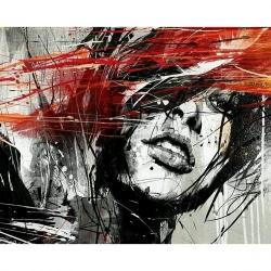Pictura pe numere 40x50 cm - Panza din bumbac pe rama de lemn - Libertate in emotii (PDP-350)