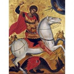 Picturi pe numere Religioase 40x50 cm Sfantul Gheorghe 23 Aprilie PDP1464