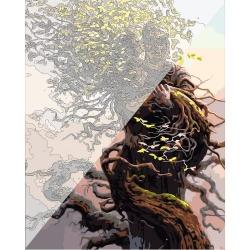 Pictura pe numere 40x50 cm - Panza din bumbac pe rama de lemn (PDP-942)