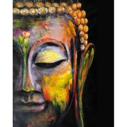 Pictura pe numere - Panza din bumbac pe rama de lemn 40*50 cm - Budha (2) (PDP-711)
