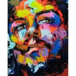 Pictura pe numere - Panza din bumbac pe rama de lemn 40*50 cm - Che Guevara (PDP-344)
