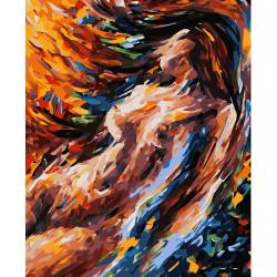 Pictura pe numere - Panza din bumbac pe rama de lemn 40*50 cm (WM-017)
