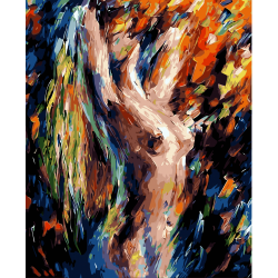 Pictura pe numere - Panza din bumbac pe rama de lemn 40*50 cm (WM-018)