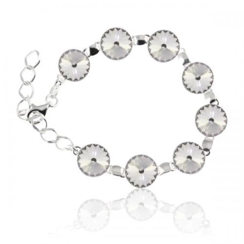 Bratara Argint 925, Bratara SWAROVSKI Grace Crystal + CADOU Laveta profesionala pentru curatat bijuteriile din argint + Cutie Cadou