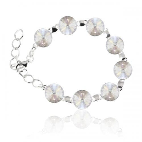 Bratara Argint 925, Bratara SWAROVSKI Grace Moonlight + CADOU Laveta profesionala pentru curatat bijuteriile din argint + Cutie Cadou
