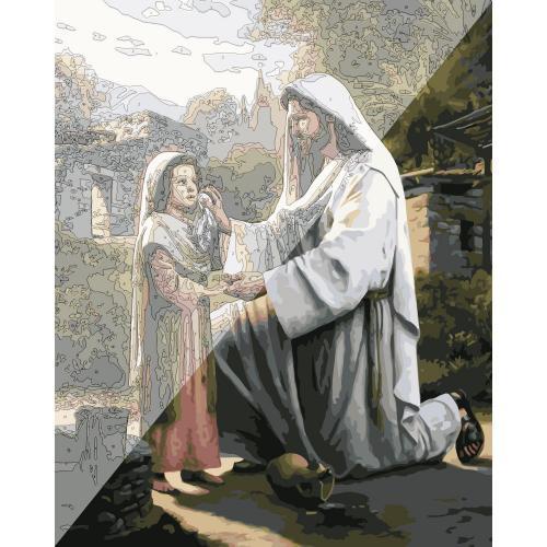 Picturi pe numere Religioase 40x50 cm PDP1500
