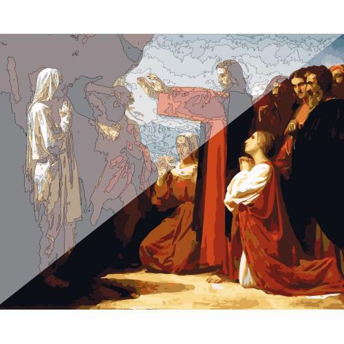 Picturi pe numere Religioase 40x50 cm PDP1501